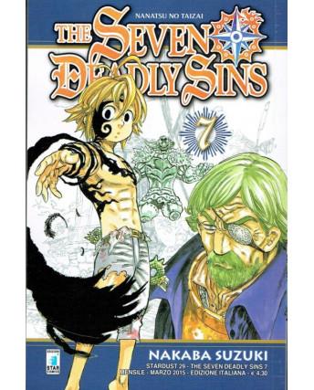 The Seven Deadly Sins n. 7 di N.SAuzuki ed Star Comics