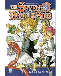 The Seven Deadly Sins n. 8 di N.SAuzuki ed Star Comics