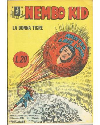 Albi del Falco n. 14 Superman Nembo Kid ristampa ANASTATICA FU07