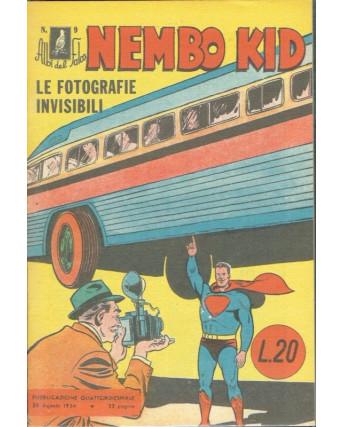Albi del Falco n.  9 Superman Nembo Kid ristampa ANASTATICA FU07