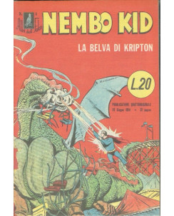 Albi del Falco n.  4 Superman Nembo Kid ristampa ANASTATICA FU07