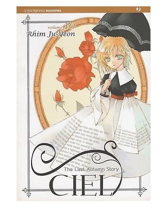Ciel – The Last Autumn Story n. 10 di Rhim Ju-Yeon ed.Jpop  NUOVO!  Sconto 30%