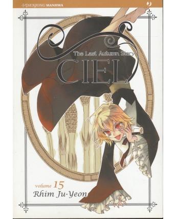 Ciel – The Last Autumn Story n. 15 di Rhim Ju-Yeon ed.Jpop  NUOVO!  Sconto 30%