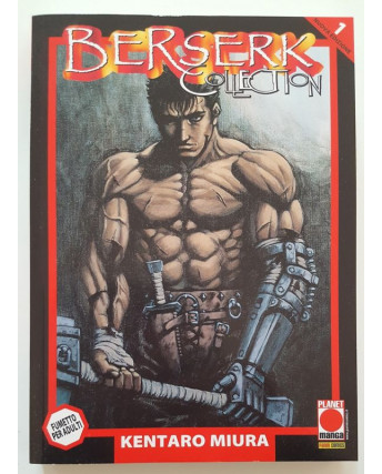 Berserk Collection n.  1 di Kentaro Miura 6a ristampa ed. Planet Manga
