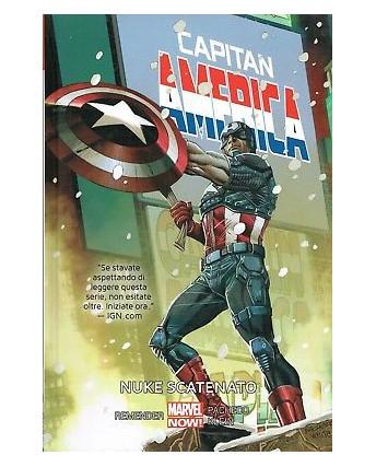 Capitan America 3:Nuke scatenato ed. Panini cartonato SCONTO 40% FU11