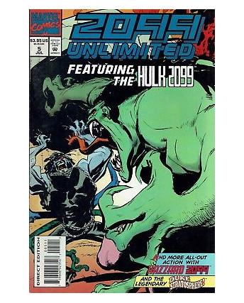 2099 UNLIMITED  5 ed.Marvel Comics lingua originale OL02
