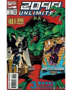 2099 UNLIMITED  4 ed.Marvel Comics lingua originale OL02