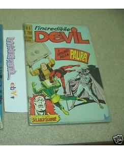 L'Incredibile Devil n.  6 ed.Corno
