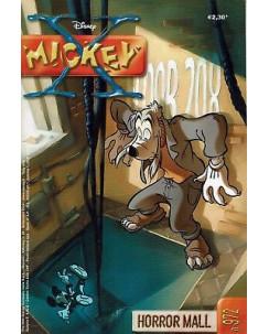 X Mickey  972 Horror Male (Topolino) ed.Disney