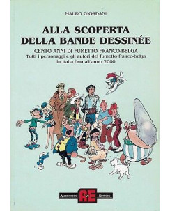 alla scoperta della Banda Dessinèe SAGGIO fumetto franco belga ed.Alessand FU10