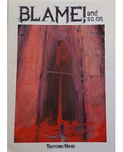 Blame! And so on di Tsutomu Nihei ARTBOOK ed. Panini FU13