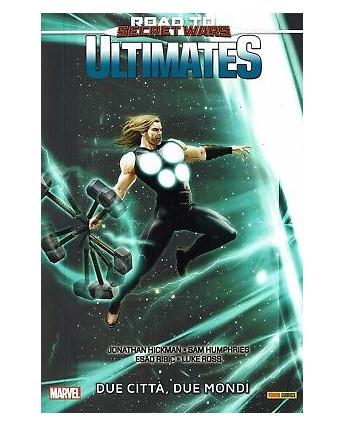 100% Marvel Ultimates 2:due citta due mondi di Hickman ed.Panini NUOVO -40% FU14