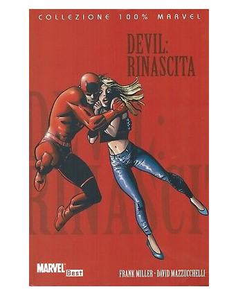 100% Marvel:Devil Rinascita di Miller Mazzucchelli ed.Panini SCONTO 30% FU12