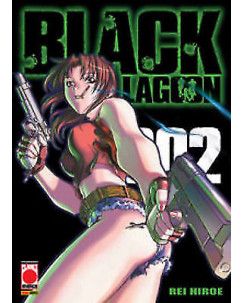 Black Lagoon n. 2 di Rei Hiroe - ed. Planet Manga