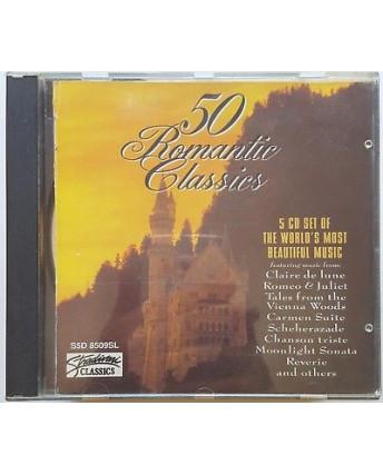 456 CD 50 Romantic Classics Stradivari - 5 CD S5D 8509SL