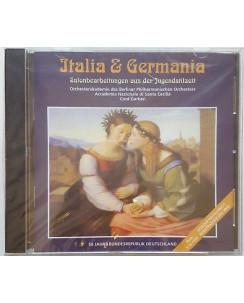 460 CD Italia & Germania Tag Der Deutschen Einheit/Rom 3.10.1999 BLISTERATO