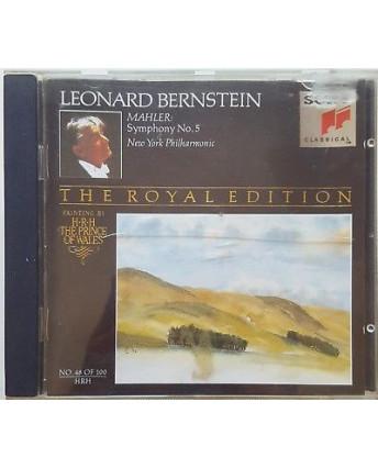 461 CD Mahler: Symphony No.5 Leonard Bernstein - Sony SMK 47580 Hollande 1991