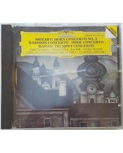 463 CD Mozart: Hornkonzert nr. 3 U.A Haydn: Trompeten Konzert - 415 104-2  1985