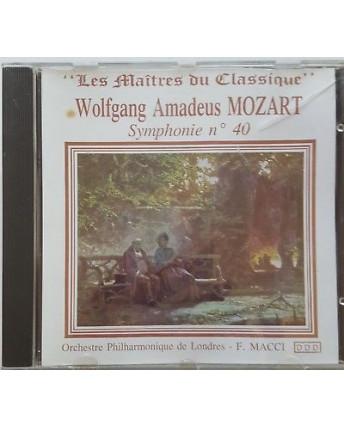 466 CD W. A. Mozart: Symphonie n° 40 F. Macci - Bella Musica BMCD 90217