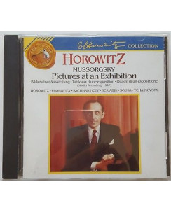 468 CD Mussorgsky: Picture at an exhibition Horowitz - 09026-60526-2 BMG 1992