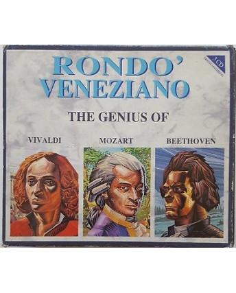 469 CD Rondo' Veneziano: The genius of Vivaldi, Mozart Beethoven CDFM14302 1990