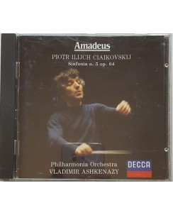 470 CD CiaiKovskij: Sinfonia n. 5 op. 64 V. Ashkenazy - AM 009 DECCA 2890 391