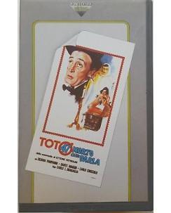 001 VHS Toto' 47 morto che parla di Bragaglia - Fonit Cetra FCV 1019