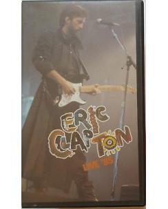 003 VHS Eric Clapton Live '85 - 041 300 PolyGram Video