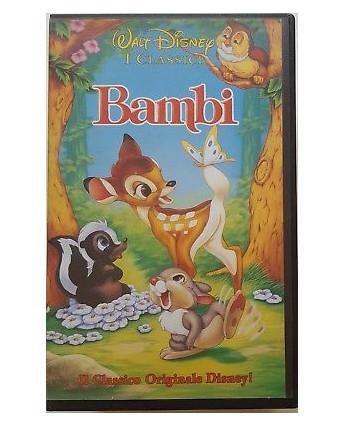 006 VHS Bambi - I Classici di Walt Disney 1992 VS 4372