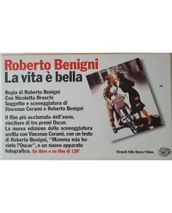 007 VHS Roberto Benigni La vita e' bella - Libro + VHS Einaudi