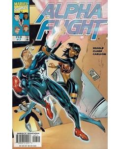 Alpha Flight  7 feb 1997 ed.Marvel Comics lingua originale OL11