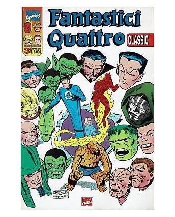 Fantastici Quattro Classic 3 di Kirby e Kubert ed.Marvel Comics