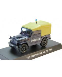 FIAT CAMPAGNOLA A.R. 59 1959 Carabinieri Die Cast 1:43 scatola De Agostini