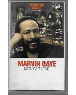 Musicassetta 001 Marvin Gaye: Midnight love - CBS 40-32776 1982