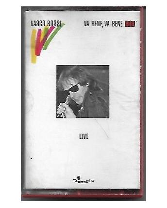 Musicassetta 004 Vasco Rossi: Va bene, va bene cosi' - CKN 725105 1984