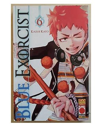 Blue Exorcist n. 6 di Kazue Kato - Prima Edizione Planet Manga
