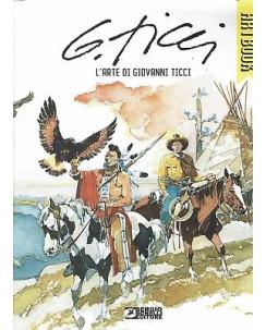 Artbook l'arte di Giovanni Ticci (TEX) ed.Bonelli sconto 40% FU12