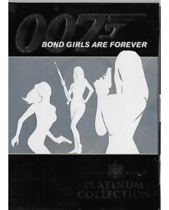 007 Bond Girls Are Forever - Platyinum Collection DVD Gazzetta dello Sport 2007