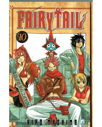 Fairy Tail 10 di Hiro MAshima ed.Star Comics
