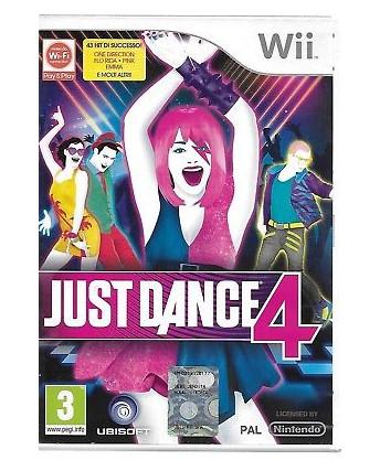 Videogioco per Nintendo Wii: Just Dance 4 3+ Ubisoft