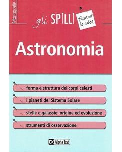 Astronomia gli spilli ed.Alpha Test NUOVO sconto 50% B18
