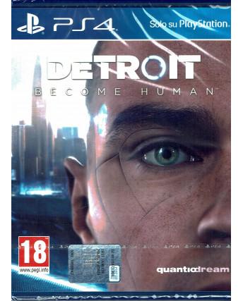 VIDEOGIOCO PER PlayStation 4: DETROIT become human NUOVO ITA