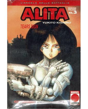 Alita L'Angelo Della Battaglia n.  3 di Y. Kishito Prima Edizione Planet Manga