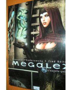 Megalex 2 l'angelo gobbo CARTONATO ed.DI Jodorowsky e Beltran SCONTO 50% FU03