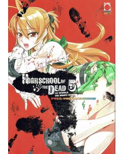Highschool of the Dead  5 la scuola dei morti FULLCOLOR ed.Panini