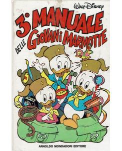 3 Manuale delle Giovani Marmotte Walt Disney ed.Mondadori FU14