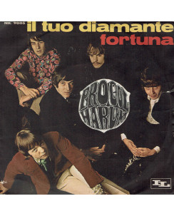 45 GIRI 0033 Procol Harum:Il tuo diamante/Fortuna IL 45NIL9005 Italy