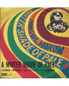 45 GIRI 0034 Procol Harum:A Whiter Shade of Pale DERAM DM.126 Italy