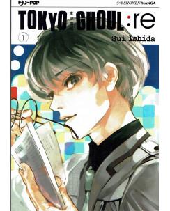 Tokyo Ghoul: RE n. 1 di Sui Ishida NUOVO ed.J-Pop