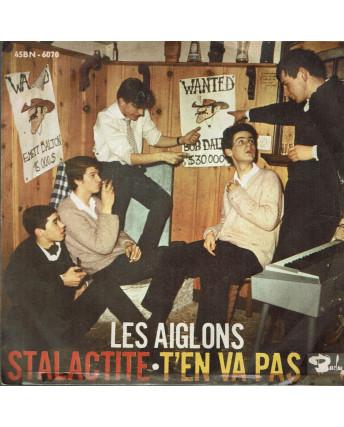 45 GIRI 0037 Les Aiglons:Stalactite/T'en va Pas Barclay 45BN 6070 Italy